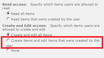 Set edit permissions only to creator and Owner of list item SharePoint 2013