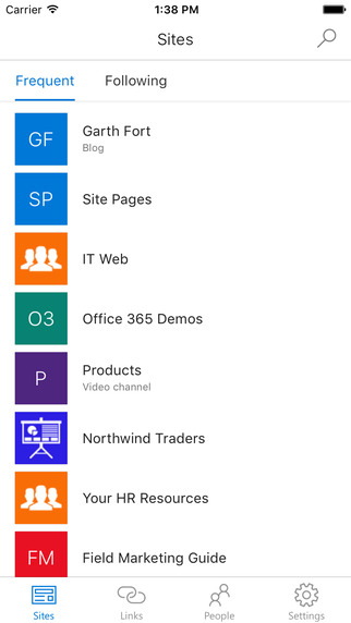 SharePoint mobile app for iOS now in the App Store
