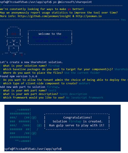 SPFx Team based development using Docker – Jenkins NS