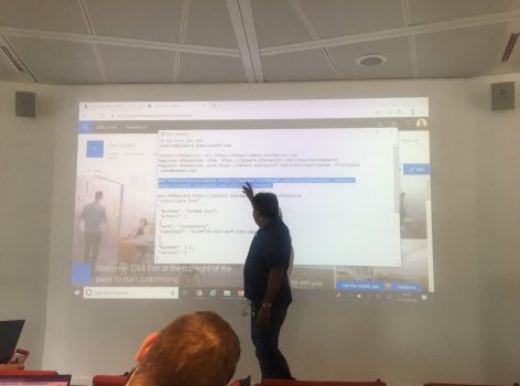 Modern Workplace Conference Paris 17-Oct-2018