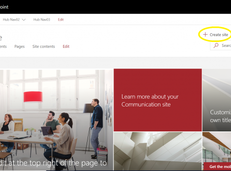 SharePoint Hub Site Ignite 2018 Updates available now