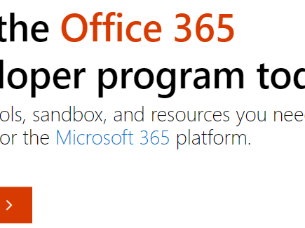Set up a Microsoft 365 developer subscription for Learning